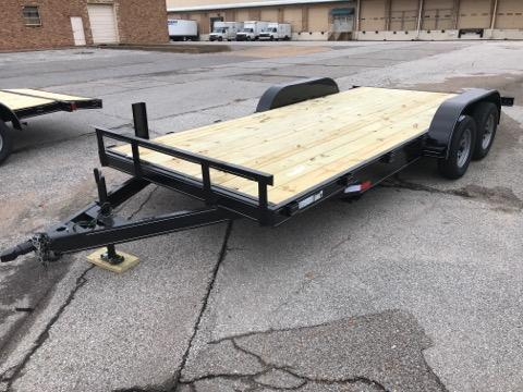 2020 Northshore 610 x 18' Flat Bed Trailer