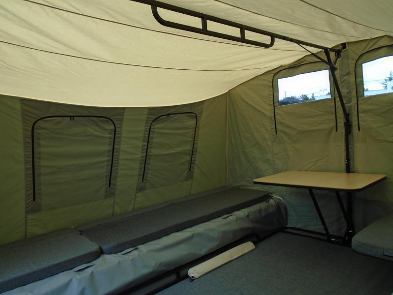 2020 Jumping Jack Trailers JJT6X17 BLACKOUT Tent Camper