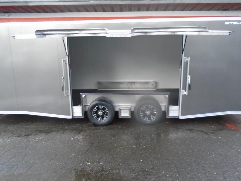 2019 Alcom-Stealth C8.5X24SCH-IF Car / Racing Trailer