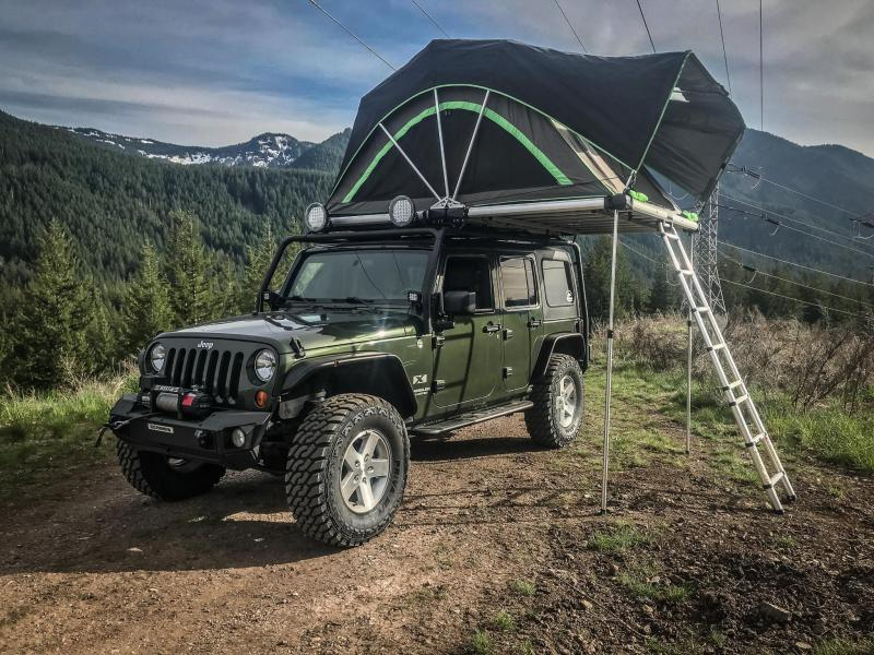 2007 Jeep Wrangler Overland Build
