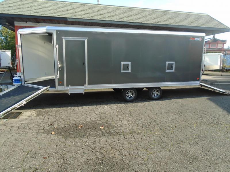 2020 Snopro 101X22 SNOWMOBILE TRAILER WITH A HEATER