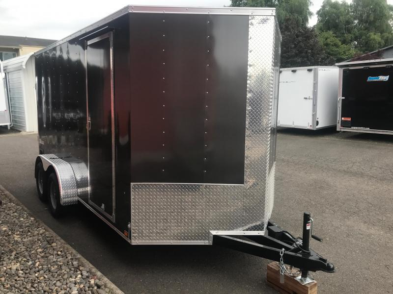 2020 PACE 7X14 ENCLOSED TRAILER WITH 12 INCHES OF EXTRA HEIGHT