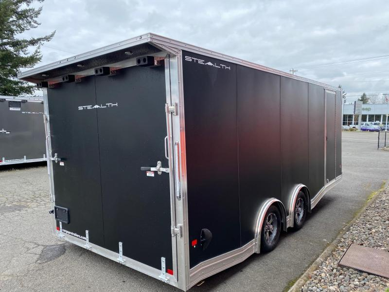 2020 Alcom-Stealth 8.5 x 20 ALL ALUMINUM CAR HAULER
