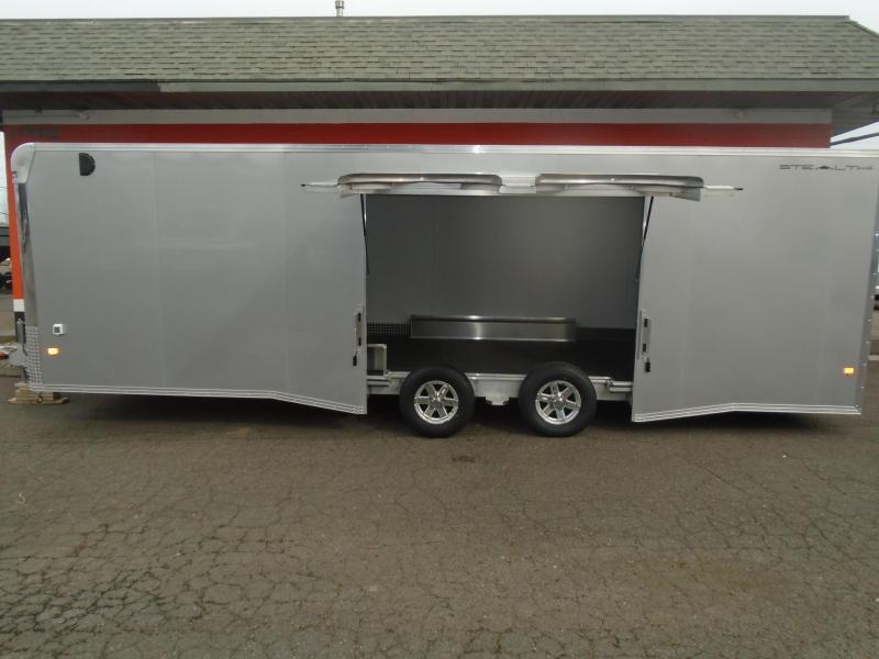 2019 Alcom-Stealth C8.5X26SCH-IF Car / Racing Trailer