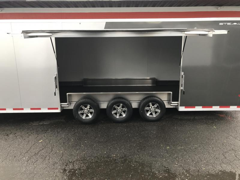 2020 Alcom-Stealth C8.5X28SCH-IF Car / Racing Trailer