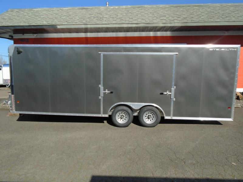 2020 Stealth 8.5X24 ALL ALUMINUM ENCLOSED WITH A ELITE ESCAPE DOOR