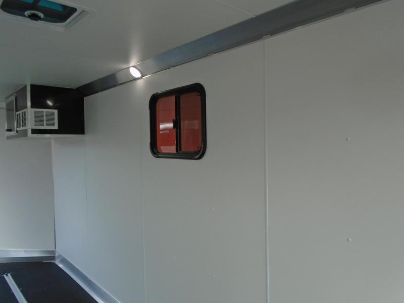 2020 Snopro SNOPROE101X18ESH Snowmobile Trailer