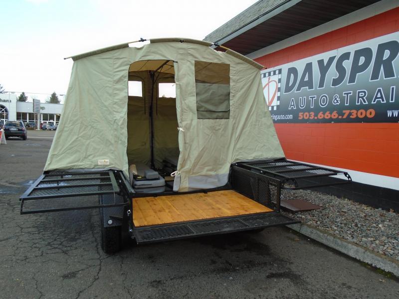 2019 Jumping Jack Trailers JJT6X12X8 B.O. Tent Camper