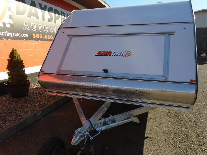 2020 Snopro HYBRID 101X12 2 PLACE Snowmobile Trailer