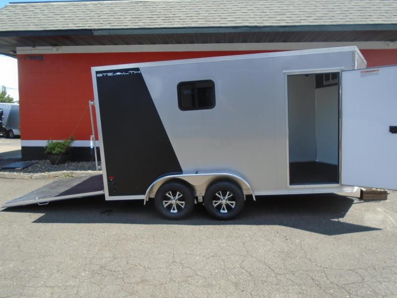 2020 Alcom-Stealth C7X14S-IF Enclosed Cargo Trailer