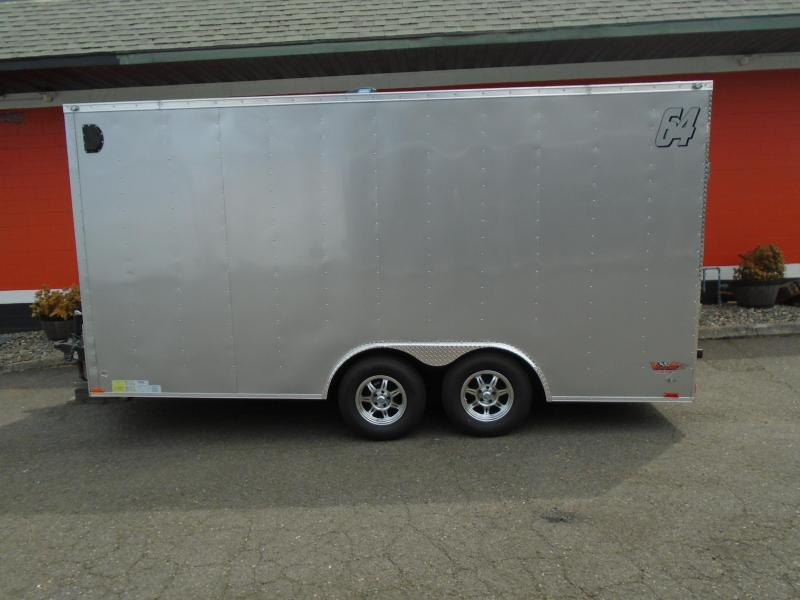2019 Continental Trailers 8.5X16 Enclosed Cargo Trailer