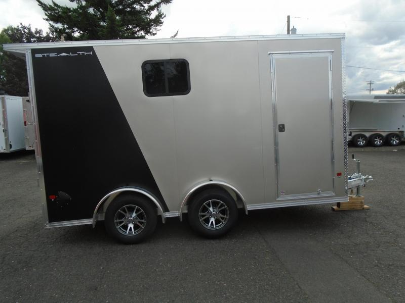2020 Alcom-Stealth C7.5X14utv Enclosed Cargo Trailer