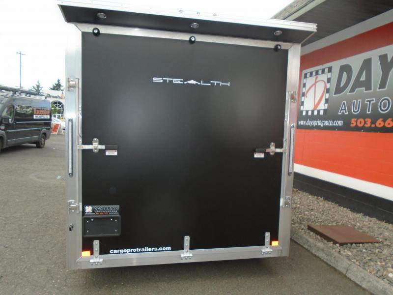 2020 Alcom-Stealth C7.5X14utv Enclosed Cargo Trailer