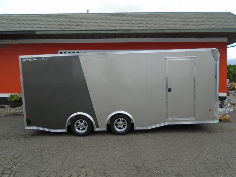 2019 Alcom-Stealth C8.5X20SCH Car / Racing Trailer