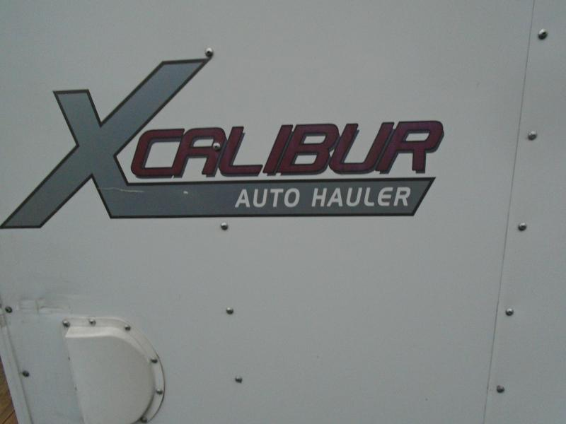 2016 Mirage Trailers MIRAGE 8.5X28 XCALIBUR CAR HAULER Car / Racing Trailer