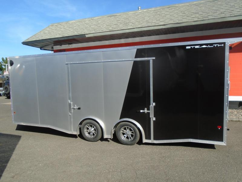 2020 Alcom-Stealth C8.5X22SCH Car / Racing Trailer