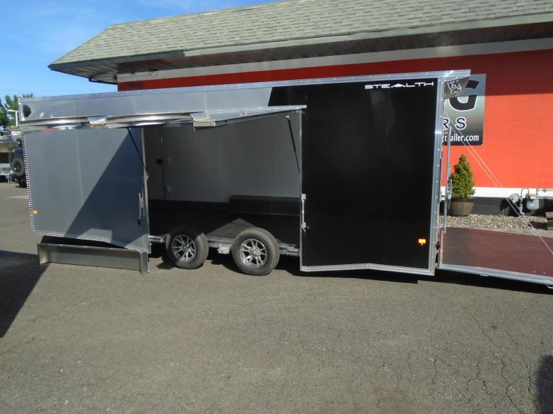 2020 Alcom-Stealth C8.5X22SCH Car / Racing Trailer