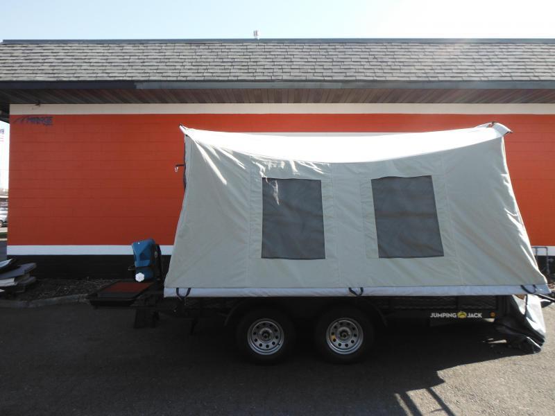 2020 Jumping Jack Trailers JJT6X12X12 Tent Camper