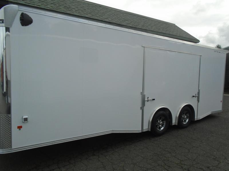 2020 Alcom-Stealth C8.5X24SCH-IF Car / Racing Trailer