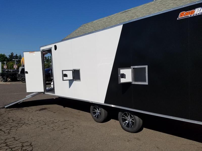 2019 Snopro E101X22-L Snowmobile Trailer