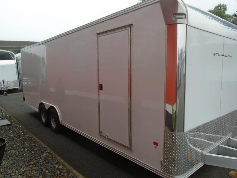 2019 Alcom-Stealth C8.5X24SCH-IF Car / Racing Trailer