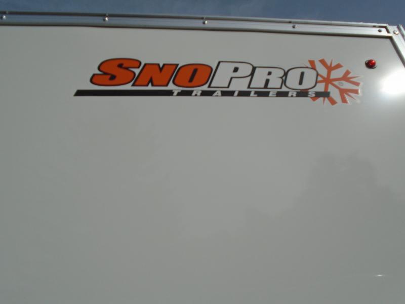 2019 Alcom-Stealth SNOPROE101X16L Snowmobile Trailer