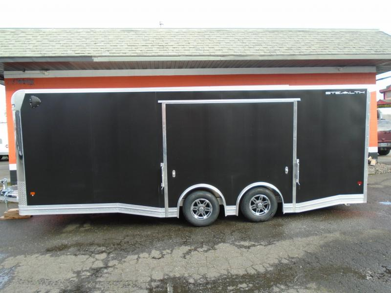 2020 ALL ALUMINUM 8.5X22 WITH 5200# AXLES WITH ELITE ESCAPE DOOR