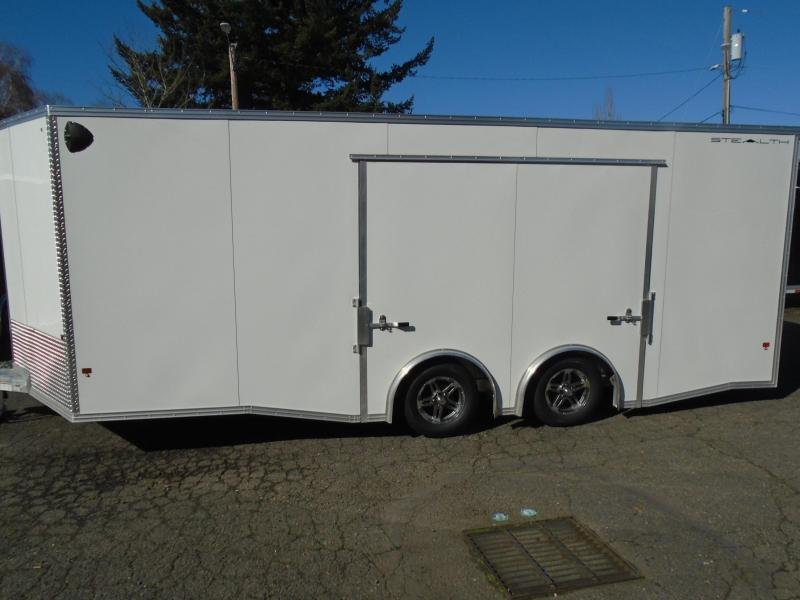 2020 Alcom-Stealth C8.5X20SCH ENCLOSED CAR HAULER
