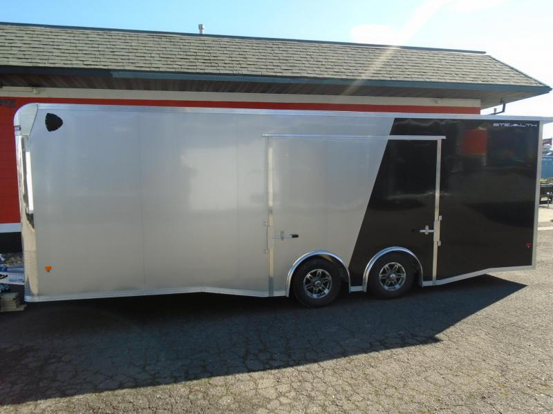 2020 Alcom-Stealth C8.5X24SCH ENCLOSED CAR HAULER