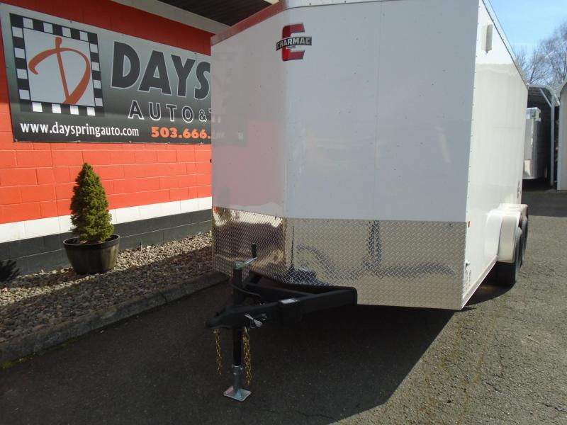 2020 Charmac Trailers 7.6X14 Enclosed Cargo Trailer