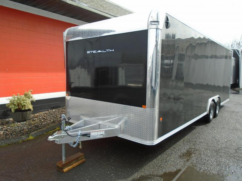 2020 Alcom-Stealth 8.5X24 Car / Racing Trailer