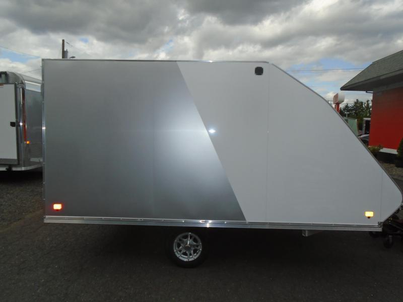 2020 Snopro HYBRID 101X12 Snowmobile Trailer