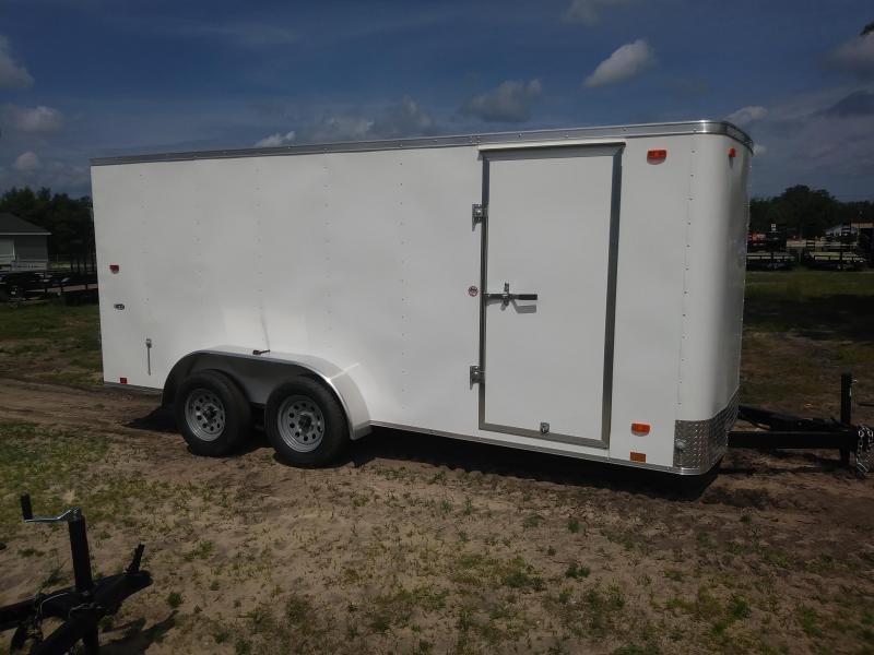2020 Look Trailers 7X16 Enclosed Cargo Trailer