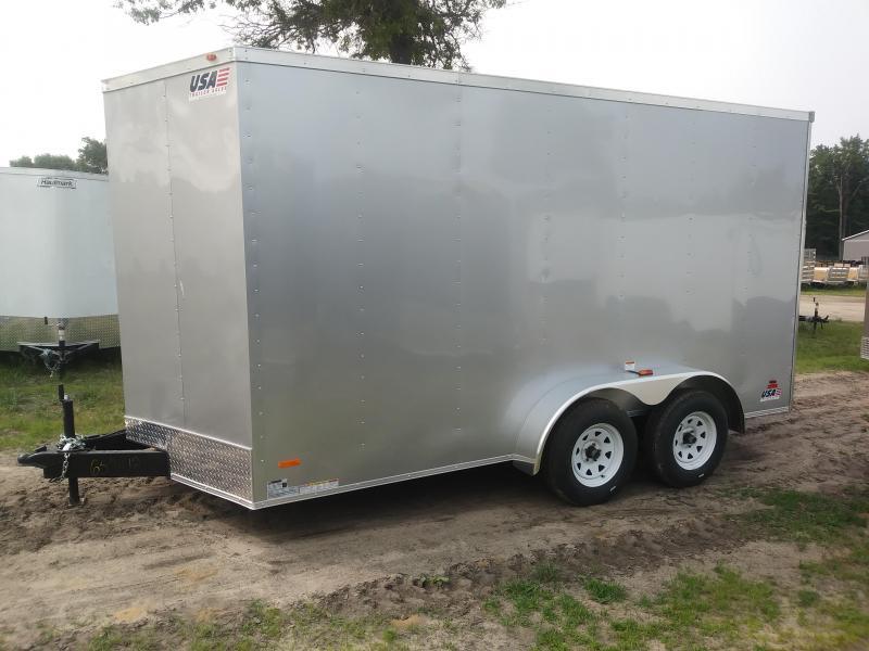 2020 MTI Trailers 7X14 Enclosed Cargo Trailer