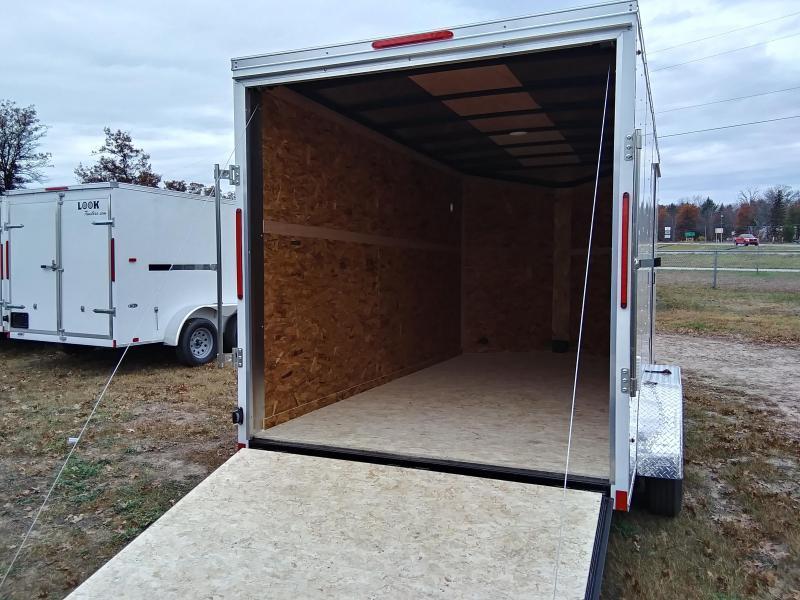 2020 Look Trailers 7 X 14 Enclosed Cargo/ATV Trailer