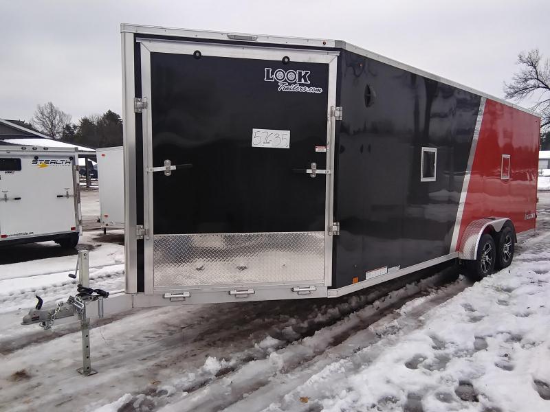 2020 Look Trailers 7 X 27 Snowmobile Trailer