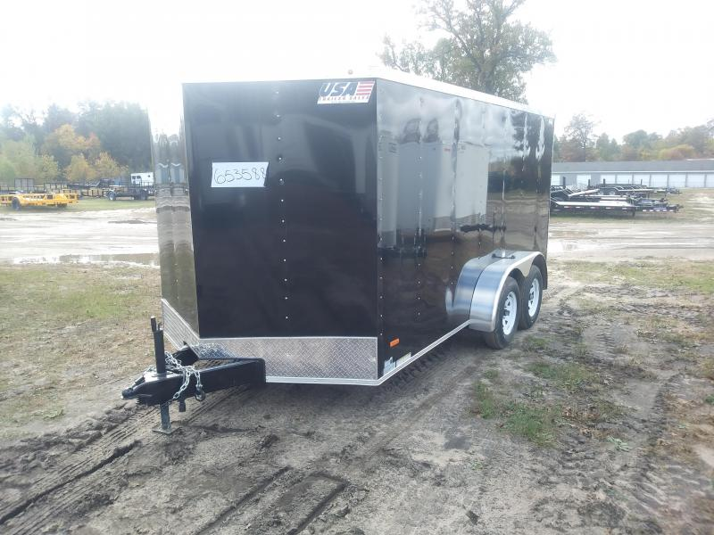 2020 MTI Trailers 7 X 14 Enclosed Cargo Trailer