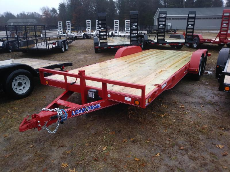 2019 Load Trail CH Carhauler 83 x 20 Car / Racing Trailer
