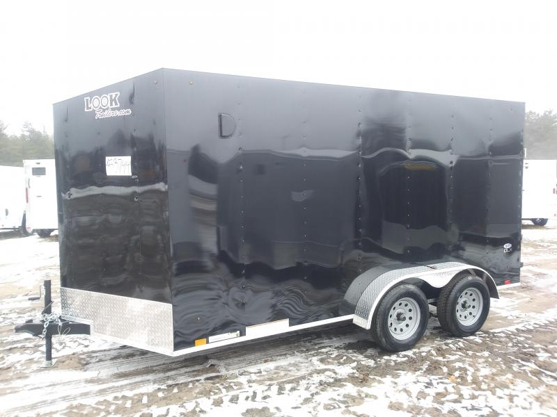 2020 Look Trailers 7 X 14 Enclosed Cargo Trailer