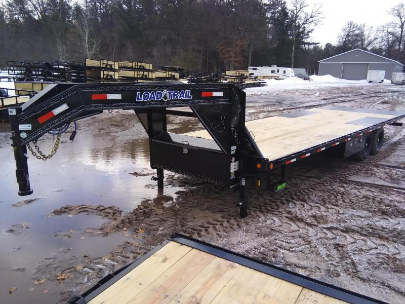 "2020 Load Trail 102"" x 26' 14K Gooseneck Tilt Deck Equipment Trailer"