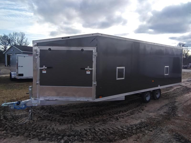 2020 Forest River, Inc. 8.5 x 20 4 Place Snowmobile Trailer