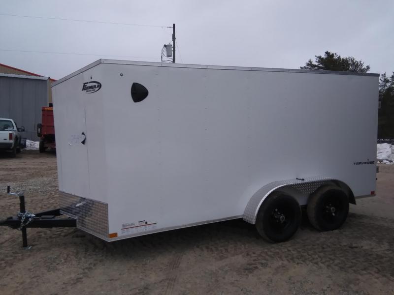 2021 Formula Trailers 7 x 14 Enclosed Cargo Trailer