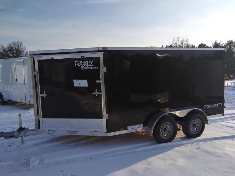 2020 Look Trailers 7 X 17 2 place Snowmobile Trailer