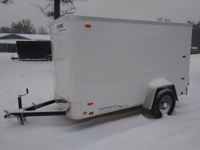 2020 Look Trailers 5 X 10 Enclosed Cargo Trailer