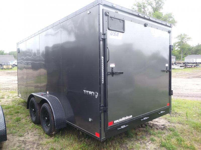 2020 Stealth Trailers 7X16 Enclosed Cargo Trailer