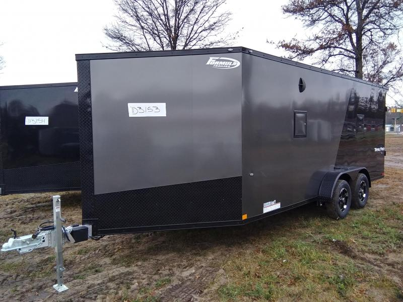 2020 Formula Trailers 7 x 23 Snowmobile Trailer 3 Place