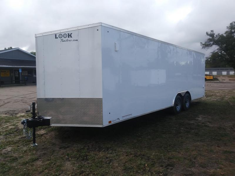 2020 Look Trailers ST85X24TE3DLX Car / Racing Trailer