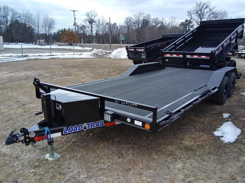 """2020 Load Trail 102"""" x 20' 10K Carhauler Car / Racing Trailer"""