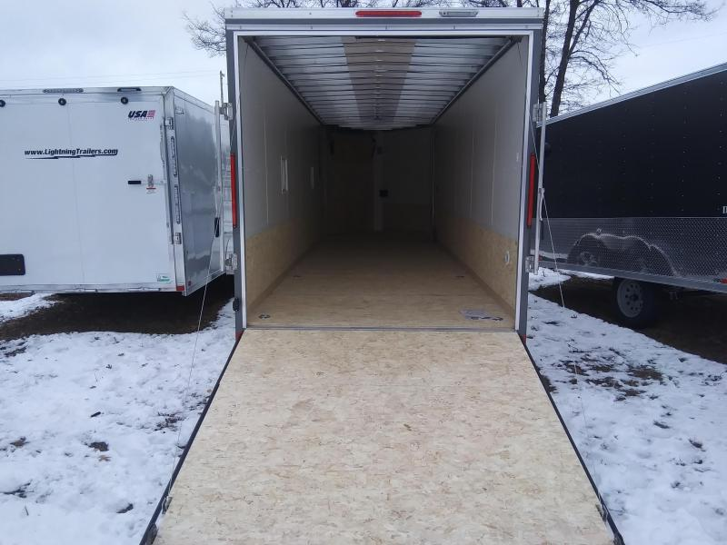 2020 Look Trailers 7 X 29, 4 place Snowmobile Trailer