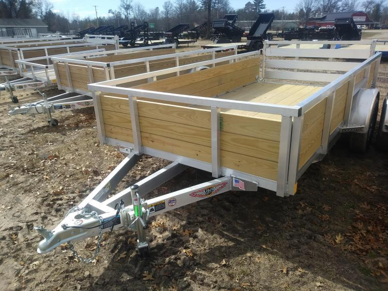 2019 H and H Trailer 6 X 12 WOOD-SIDE ALUM 3K